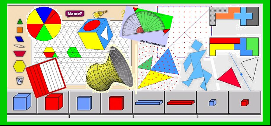 Math Manipulatives Virtual Manipulatives On The Web