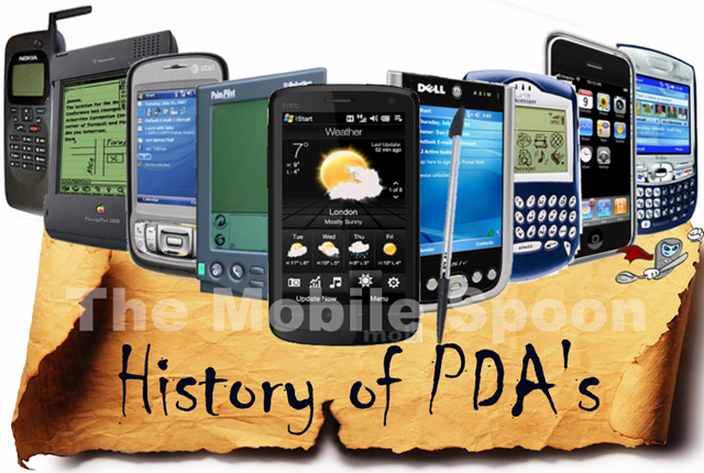 PDA history at The Mobile Spoon