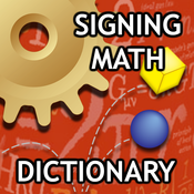 Signing Math Dictionary icon
